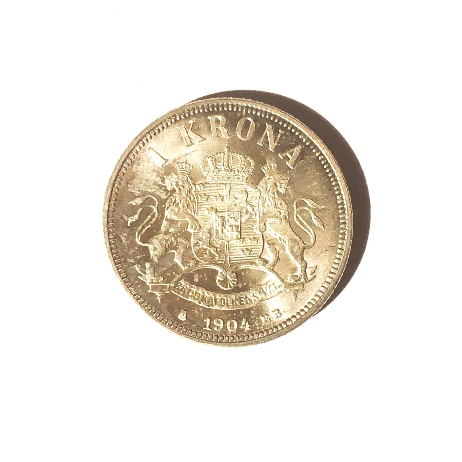 värdering gamla silvermynt