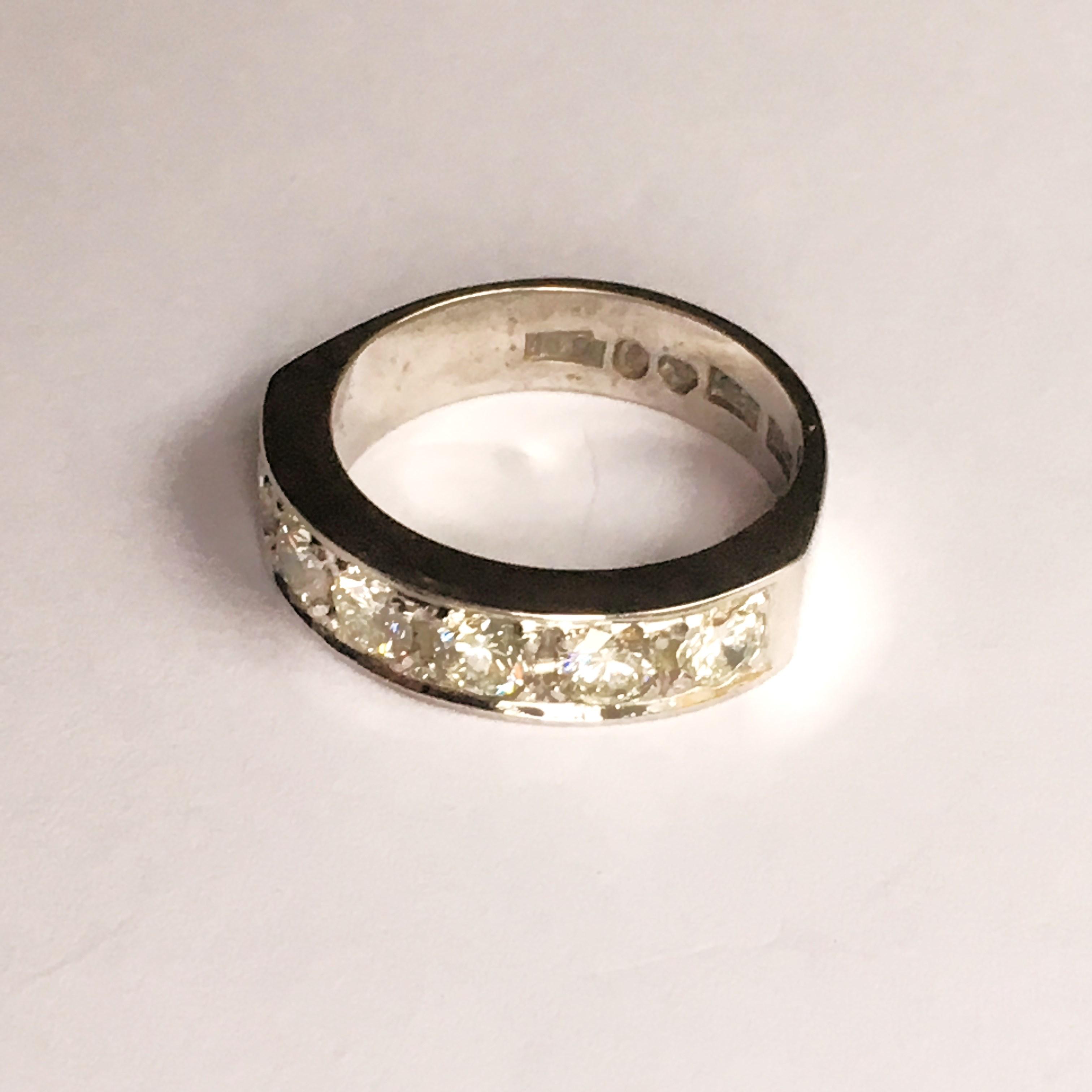 diamant stämpel ring