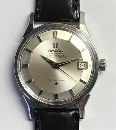 Omega Automatic Constellation Officially Certified Chronometer i stål. - Klicka för större bild