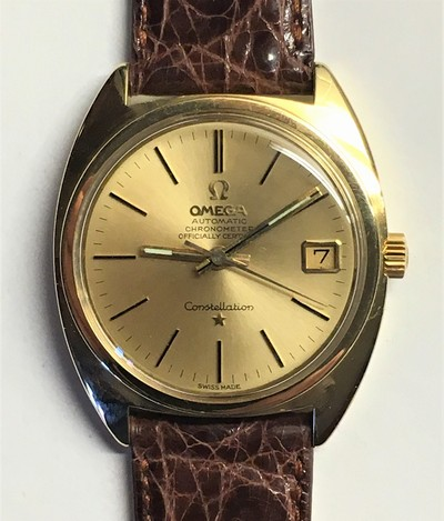 Omega Constellation Automatic Chronometer Officially Certified i 18k. - Klicka för större bild